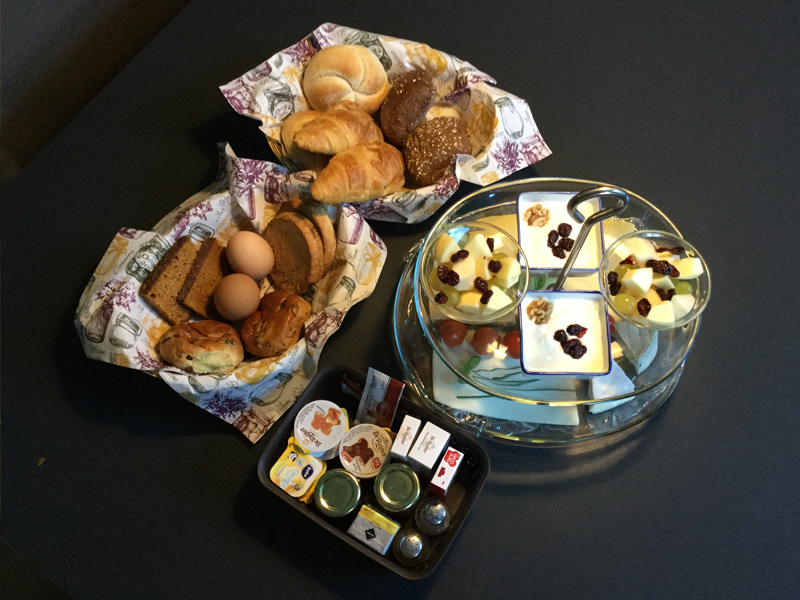Bed and Breakfast Arnhem - ontbijt